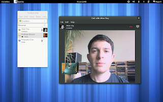 empathy video chat gnome 3.4