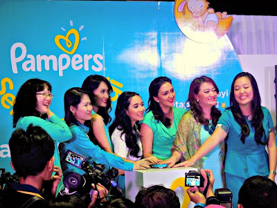 Pampers Baby Dry Launching