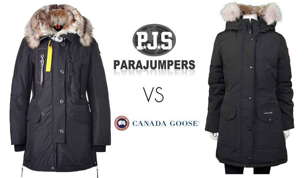 parajumpers ou canada goose