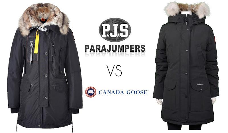 parajumpers vs canada goose