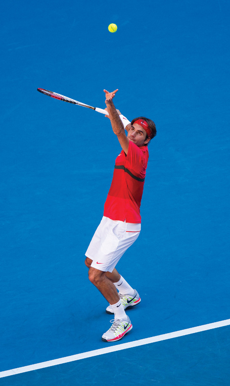 how to serve both side tennis