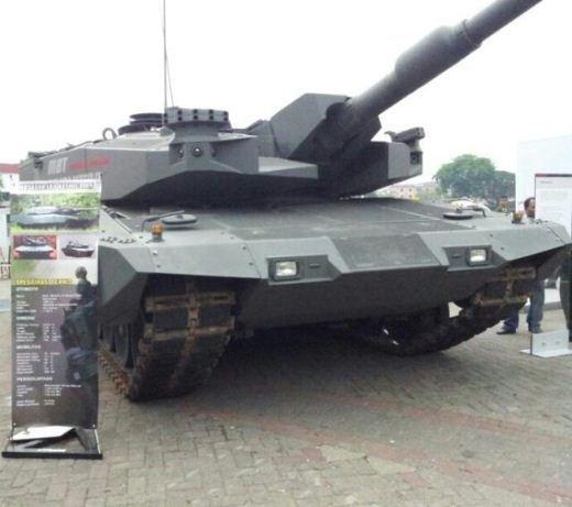 Leopard Revolution TNI AD
