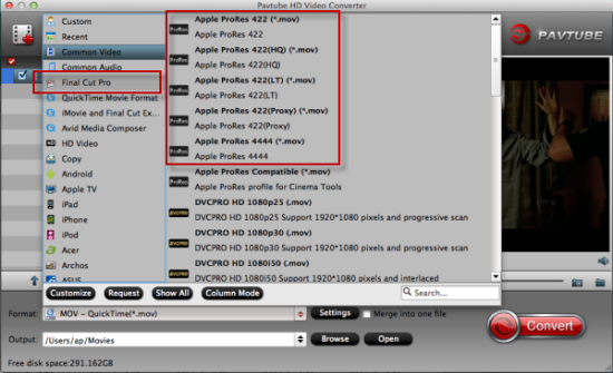 MP4 to FCP Converter for Mac