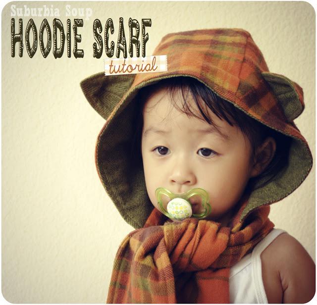 hoodie scarf sewing tutorial