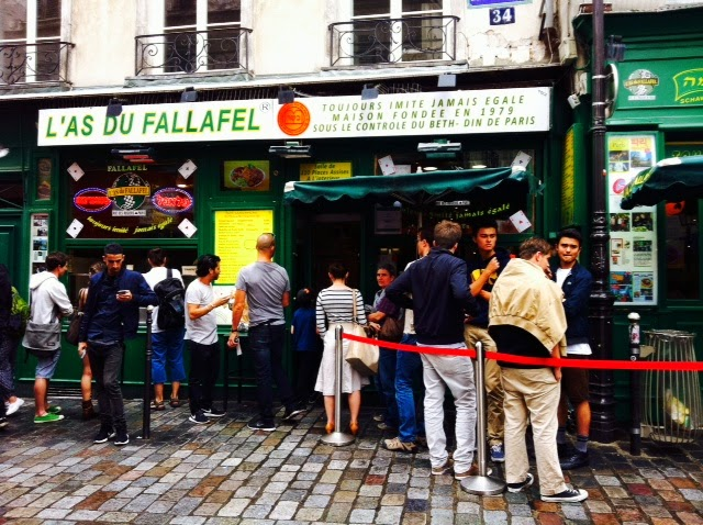 Vicki and Lily Take on the Marais: L'As du Falafel