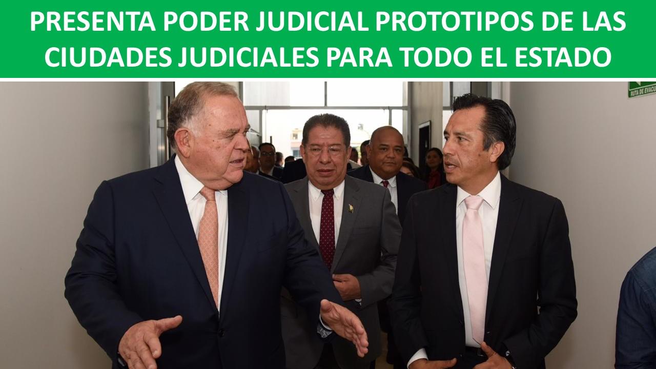 PROTOTIPOS DE LAS CIUDADES JUDICIALES
