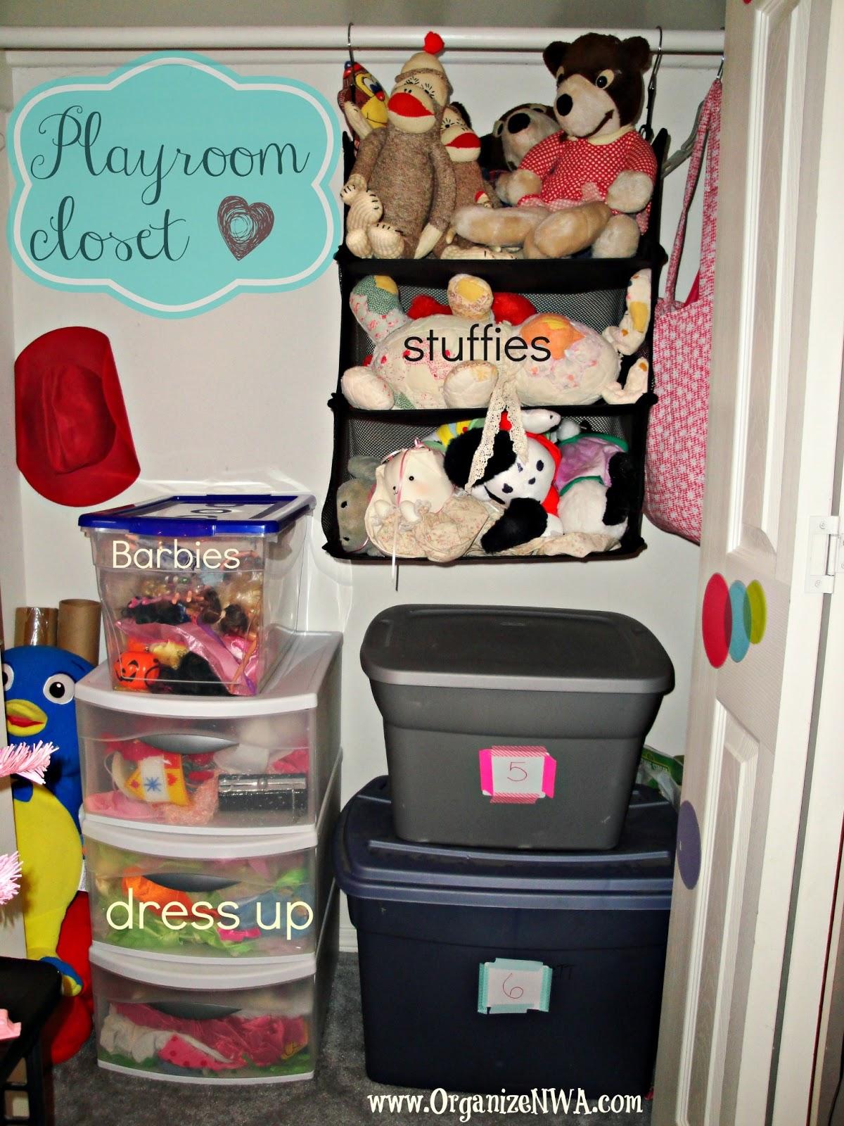 The Playroom Closet