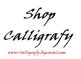 Shop Calligrafy