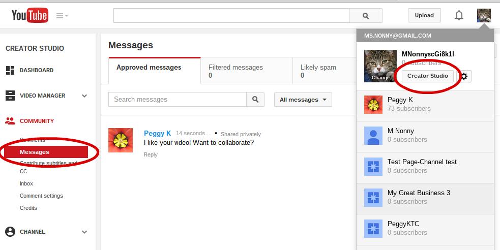 как удалить видео на youtube