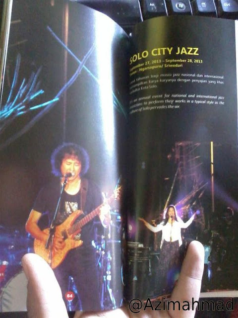 Solo Calendar Event - Solo City Jazz di Ngarsopuro/Sriwedari
