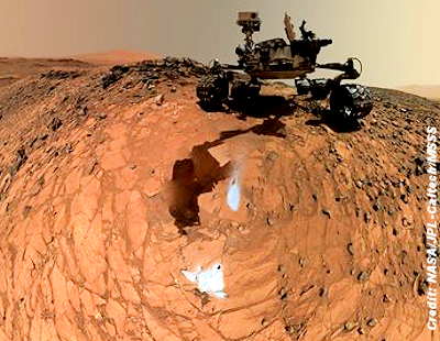 New Find on Mars Suggests 'Considerable Water Activity'