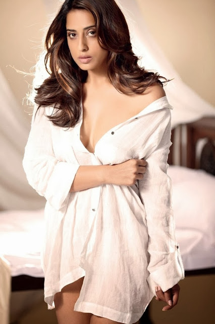 mahie-gill-wearing-only-white-shirt-showing-cleavage-and-no-pants-in-maxim-india-photoshoot