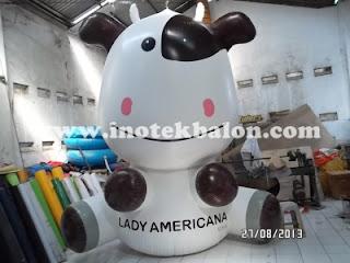 Balon karakter Lady Americana