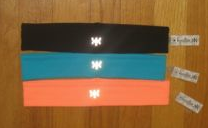 Style Athletics Kyodan Headbands Orange Turquoise Black