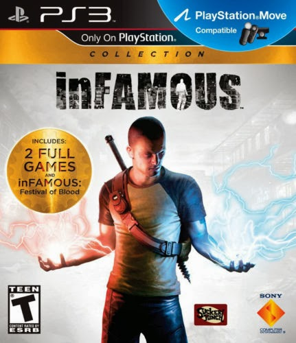 INFAMOUS 1+2 COLLECTION PS3 GAME BRAND NEW SEALED