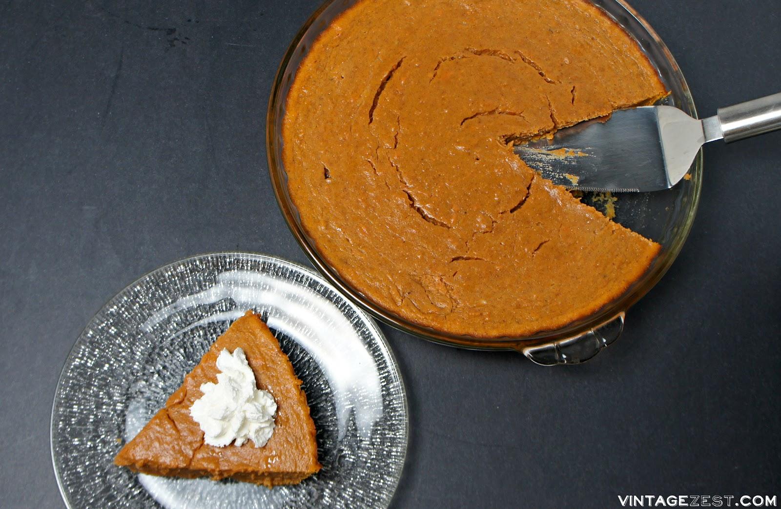 Crustless sweet potato pie healthy recipes