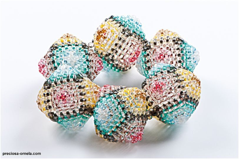 preciosa s new and stunning bead work tutorials