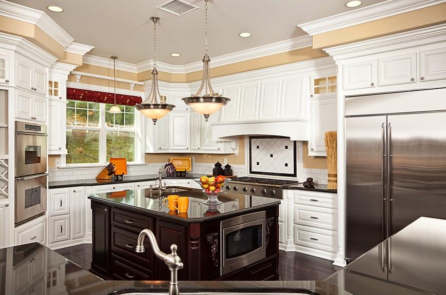The Beautiful White Kitchen
