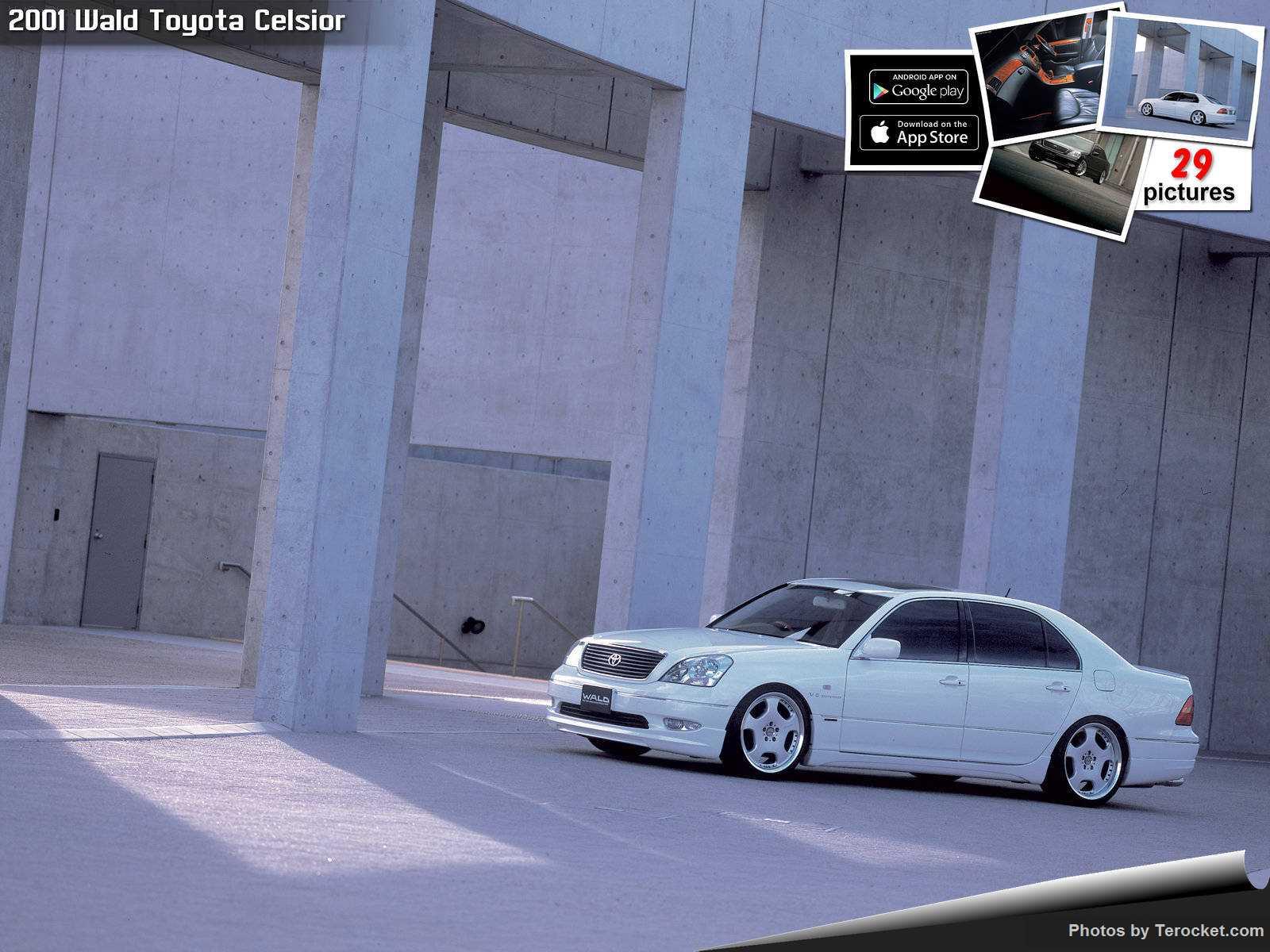 Hình ảnh xe độ Wald Toyota Celsior 2001 & nội ngoại thất