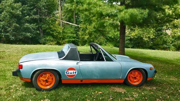 1974 porsche 914 2 0l for sale buy classic volks. Black Bedroom Furniture Sets. Home Design Ideas