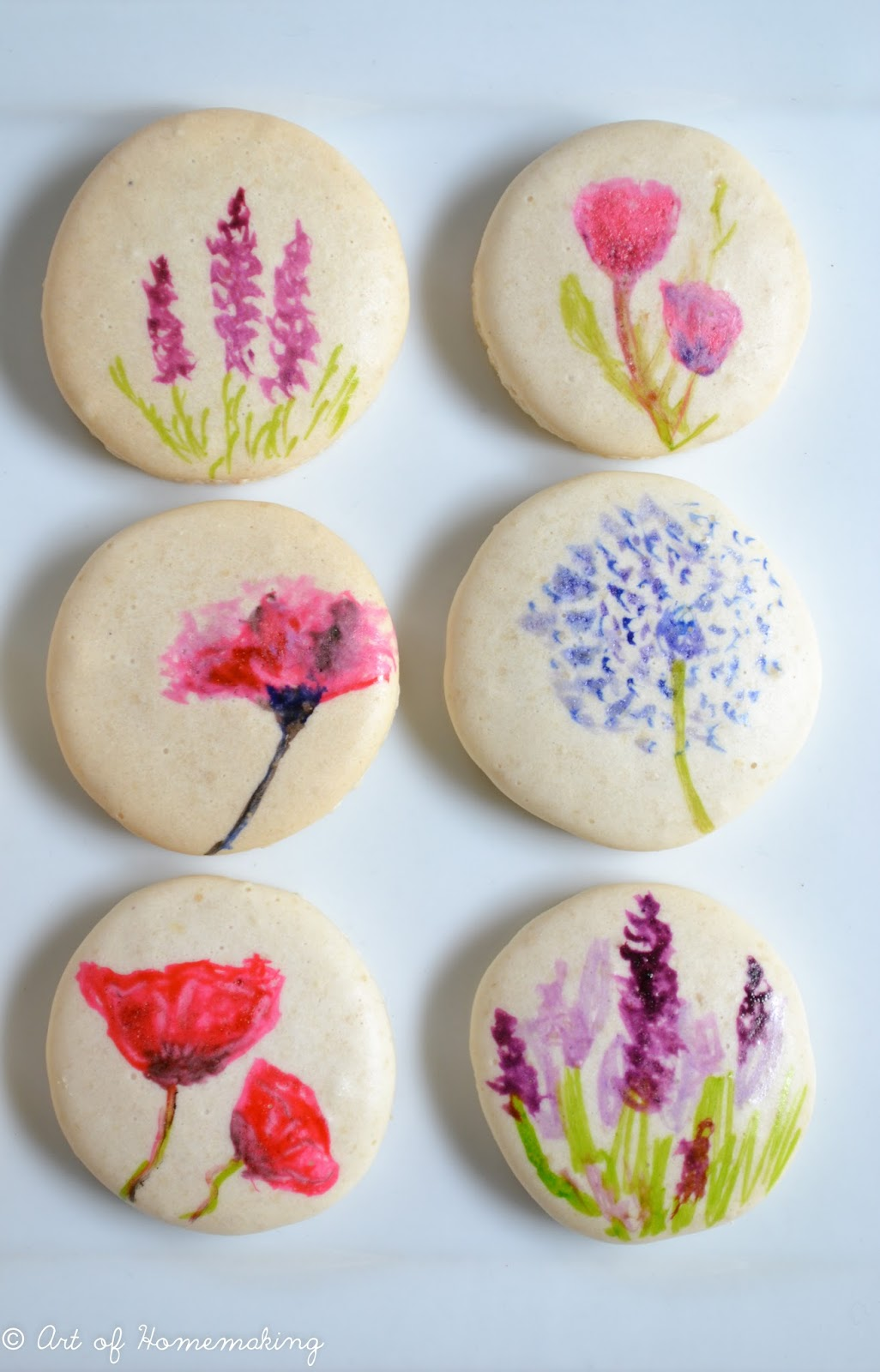 What To Use To Paint On Macarons