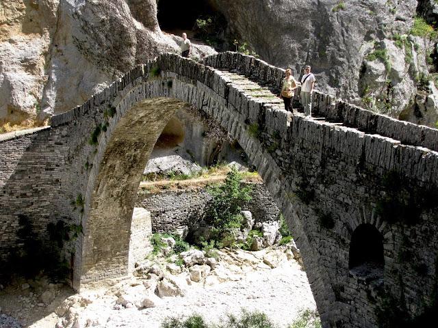 Grecia, Zagoria, puente de Kokori