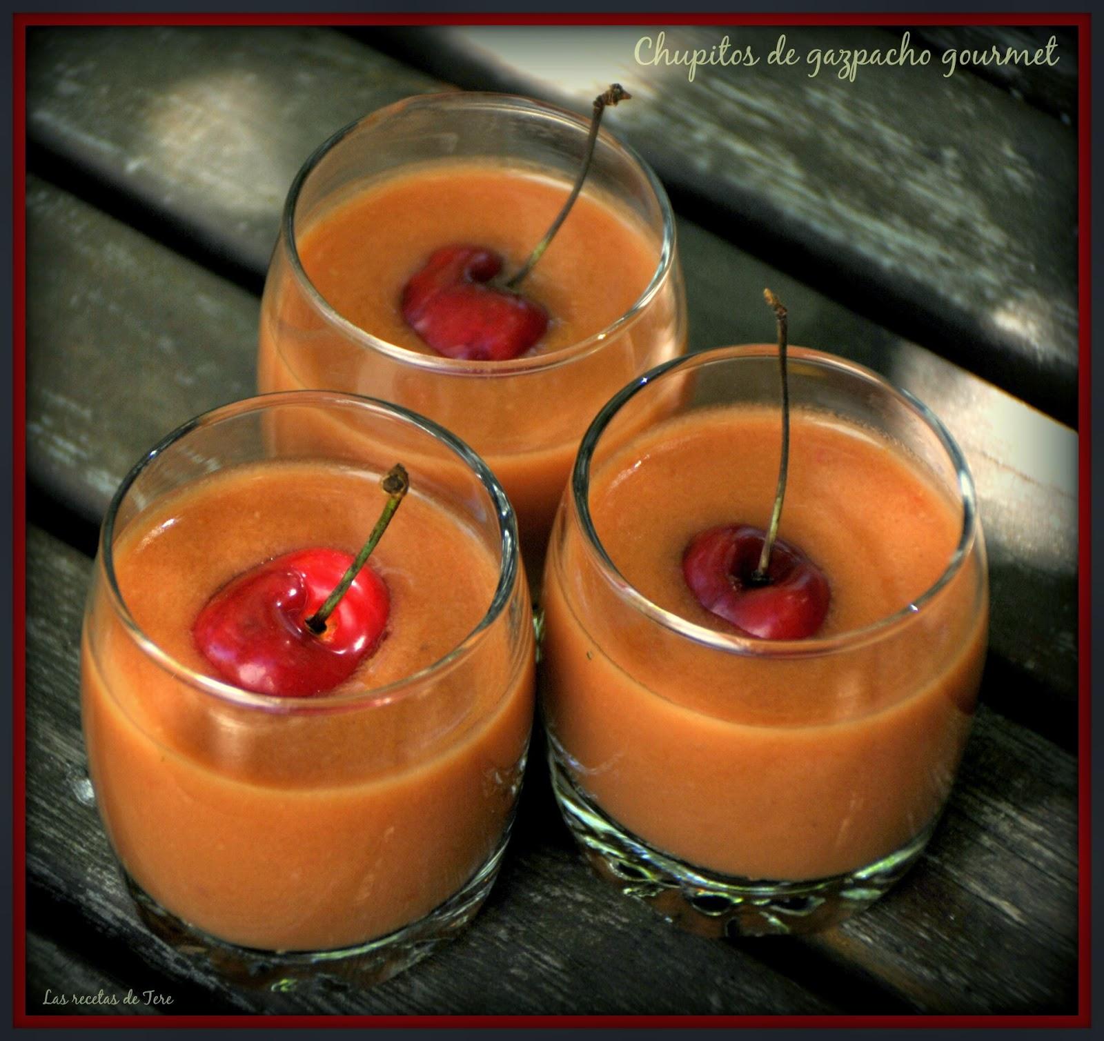 Chupitos de gazpacho gourmet 01