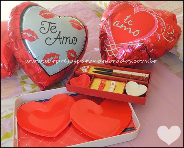 presentes românticos
