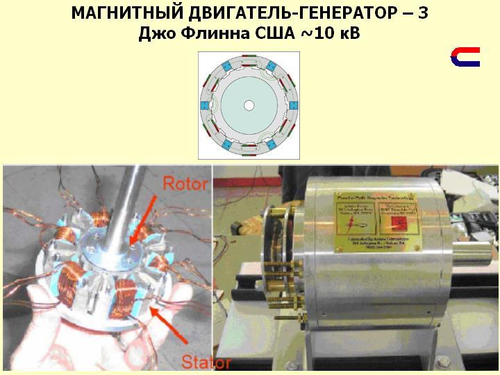 Магнитный генераторы своими руками