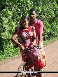 Himali Siriwardena cycle ride