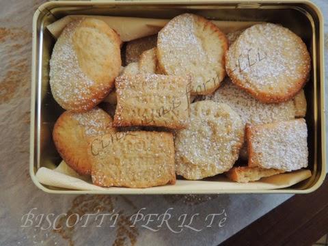 biscottini per il tè