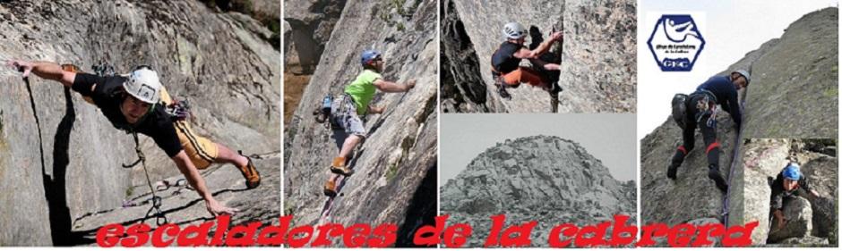 escaladores de la Cabrera