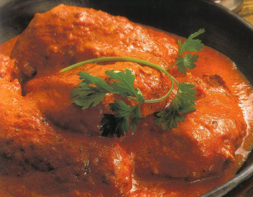 ... Menu: Punjabi Chicken Makhani - Non Vegetarian Traditional Food
