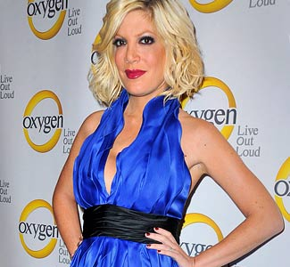 Young Tori Spelling
