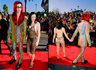 Rose Mcgowan & Marilyn Manson MTV Video Music Awards