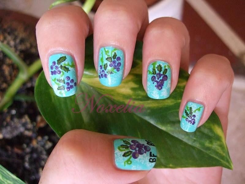 Noxelia: Stamping nail art: agosto 2012