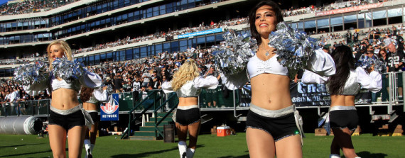 37-year-old and grandmother makes oakland raiders cheerleader
