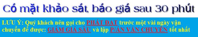 Dịch vụ chuyển nhà trọn gói giá rẻ 0915 010 777