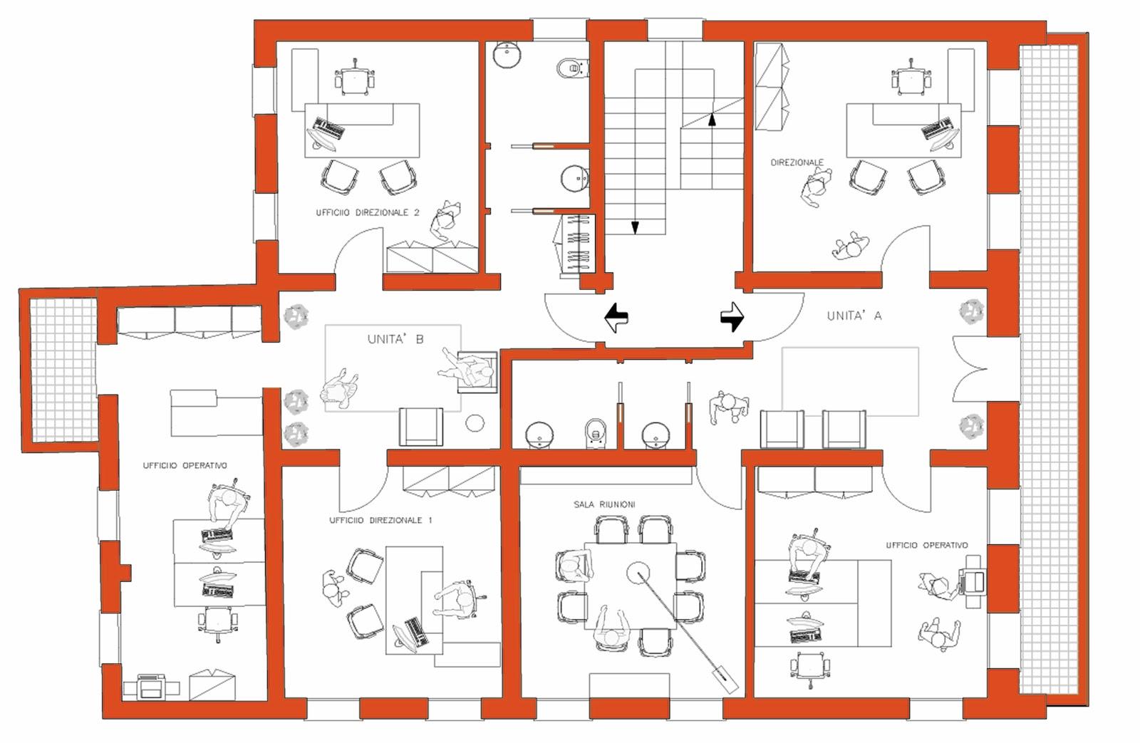 Pianta architettura definizione idea creativa della casa for Miglior design della planimetria