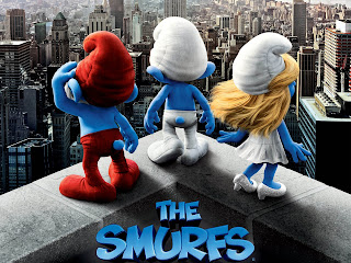 The Smurfs 3D Cartoon HD Wallpaper