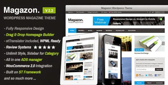 Magazon – Responsive WordPress News or Magazine theme