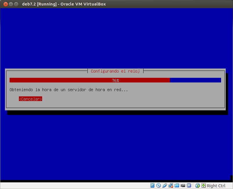 DriveMeca instalando Debian Wheezy 7.2