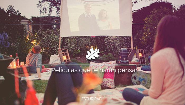 cine de verano al aire libre jardín