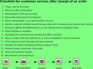 What is important for a good customer service?