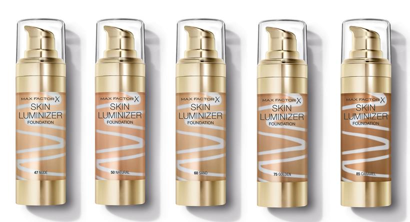 gama nuante max factor skin luminizer