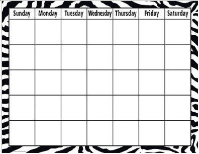 classroom calendar display