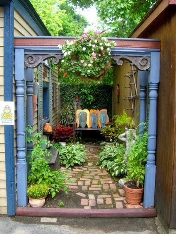 jardim num quintal pequeno ? Doitri.com