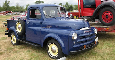 Enter to win a restored 1949 Dodge pickup truck. Enter 11/15.