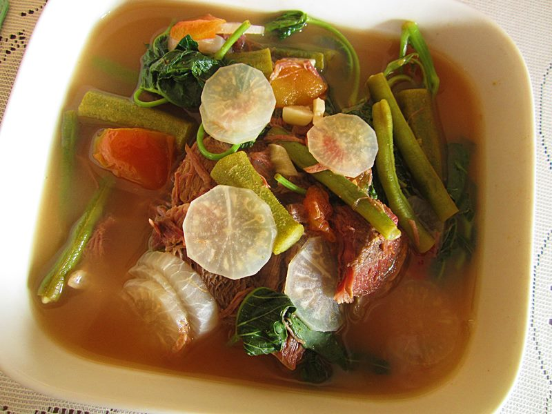 how to make sinigang from scratch