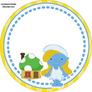 Kit Festa Os Smurfs Para Imprimir Grátis